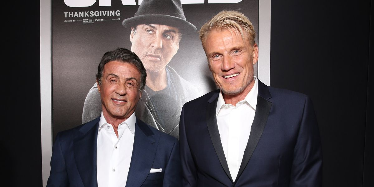 Sylvester Stallone Says He Hated Dolph Lundgren When They Met