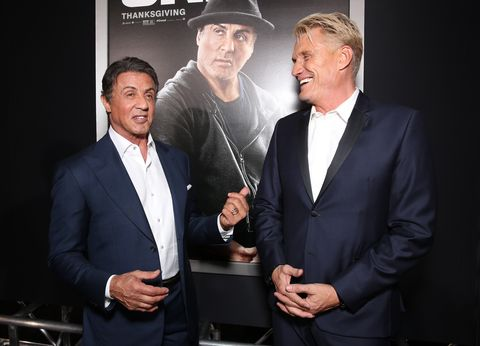 Sylvester Stallone and Dolph Lundgren Are Reuniting for a TV