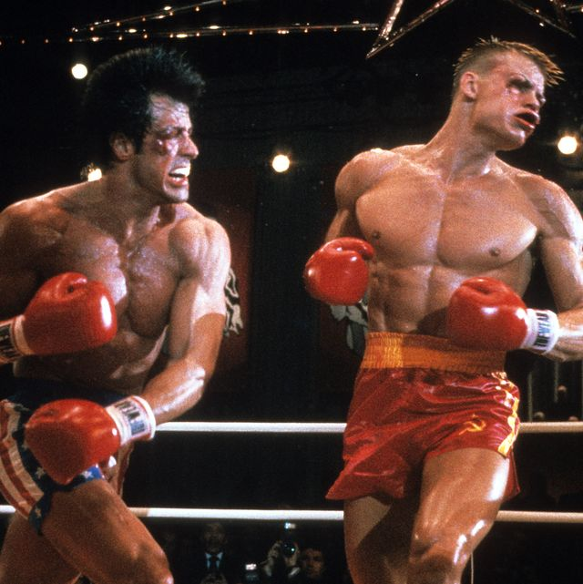 sylvester stallone en 'rocky iv' el mejor combate de boxeo de la historia del cine
