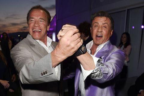Sylvester Stallone Cuchillo Rambo Arnold Schwarzenegger - Rambo Last Blood