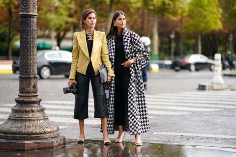 Street Style : Paris Fashion Week - Womenswear Spring Summer 2020 : Day Nine