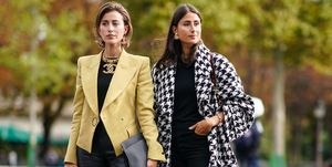 Street Style : Paris Fashion Week - Womenswear Spring Summer 2020 : Day Nine