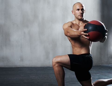 This 4-Move Medicine Ball Circuit Will Completely Smoke Your Core