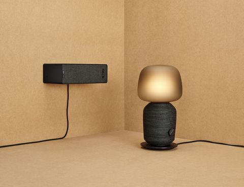 Ikea To Sonos Enabled Lamp And, Lamp With Shelf Ikea