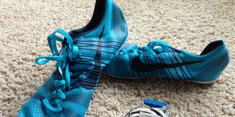 Nick Symmonds' spikes for sale