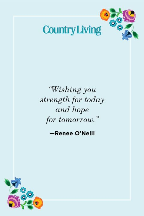 sympathy quote by Renee O'Neill