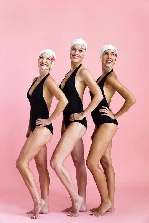 synchronized swimming best friend costumes