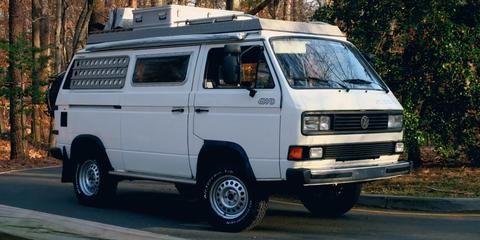 Land vehicle, Vehicle, Car, Van, Transport, Volkswagen type 2 (t3), Mode of transport, Volkswagen, Compact van, Automotive exterior,