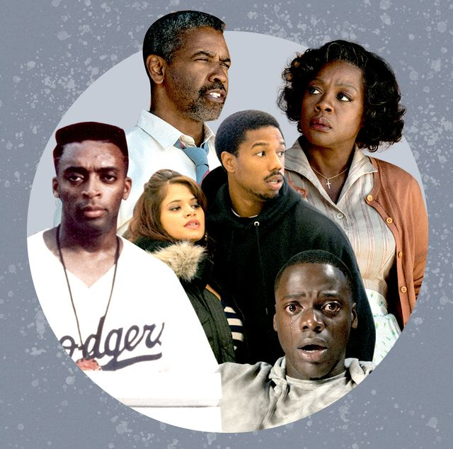black actors denzel washington michael b jordan spike lee in movies about racism