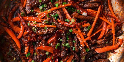 szechuan beef horizontal