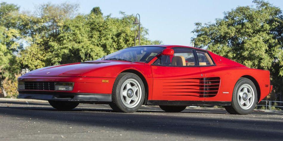 This Ferrari Testarossa might be... affordable?