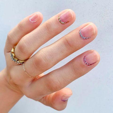 Nail, Finger, Manicure, Nail care, Nail polish, Cosmetics, Hand, Skin, Beauty, Ring,