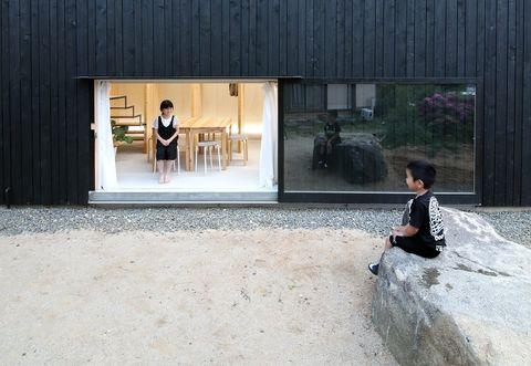 Photograph, Snapshot, Sitting, Architecture, Photography, Tree, Room, Window, Dress, Leisure,