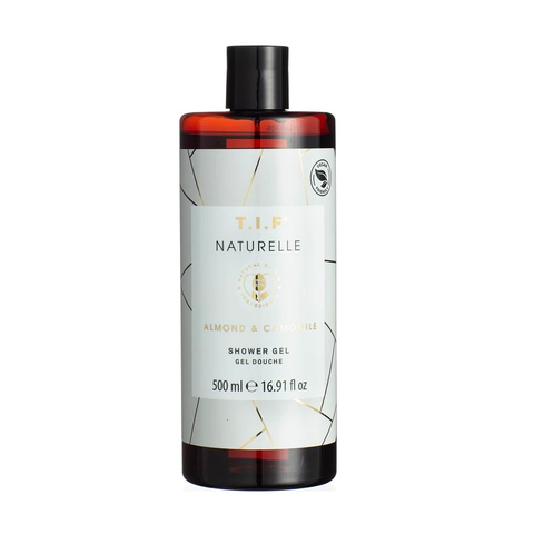 t i fnaturelle almond and camomille shower gel