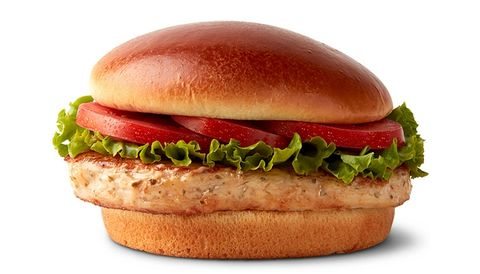 Food, Fast food, Hamburger, Dish, Burger king grilled chicken sandwiches, Original chicken sandwich, Cuisine, Breakfast sandwich, Cheeseburger, Veggie burger,