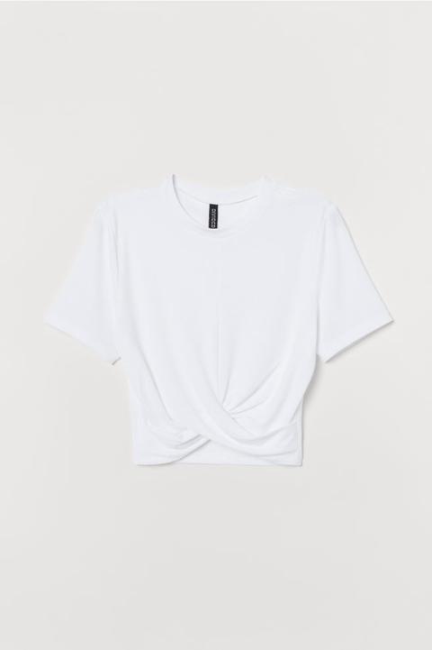 T-shirt bianca H&M tendenza Primavera Estate 2019