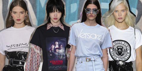 72da0566d00b1d T-shirt moda primavera 2018: i modelli con logo e firmati più belli ...