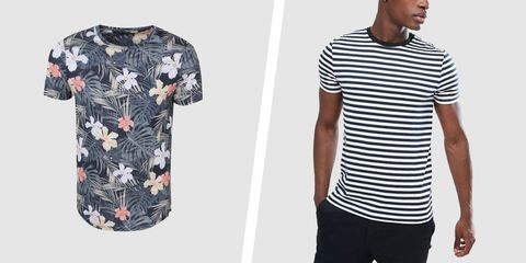 ba9534f5 Crew, V-neck, long sleeve, short sleeve, printed, solid,. Boohoo/ASOS.  Finding the perfect t-shirt isn't ...