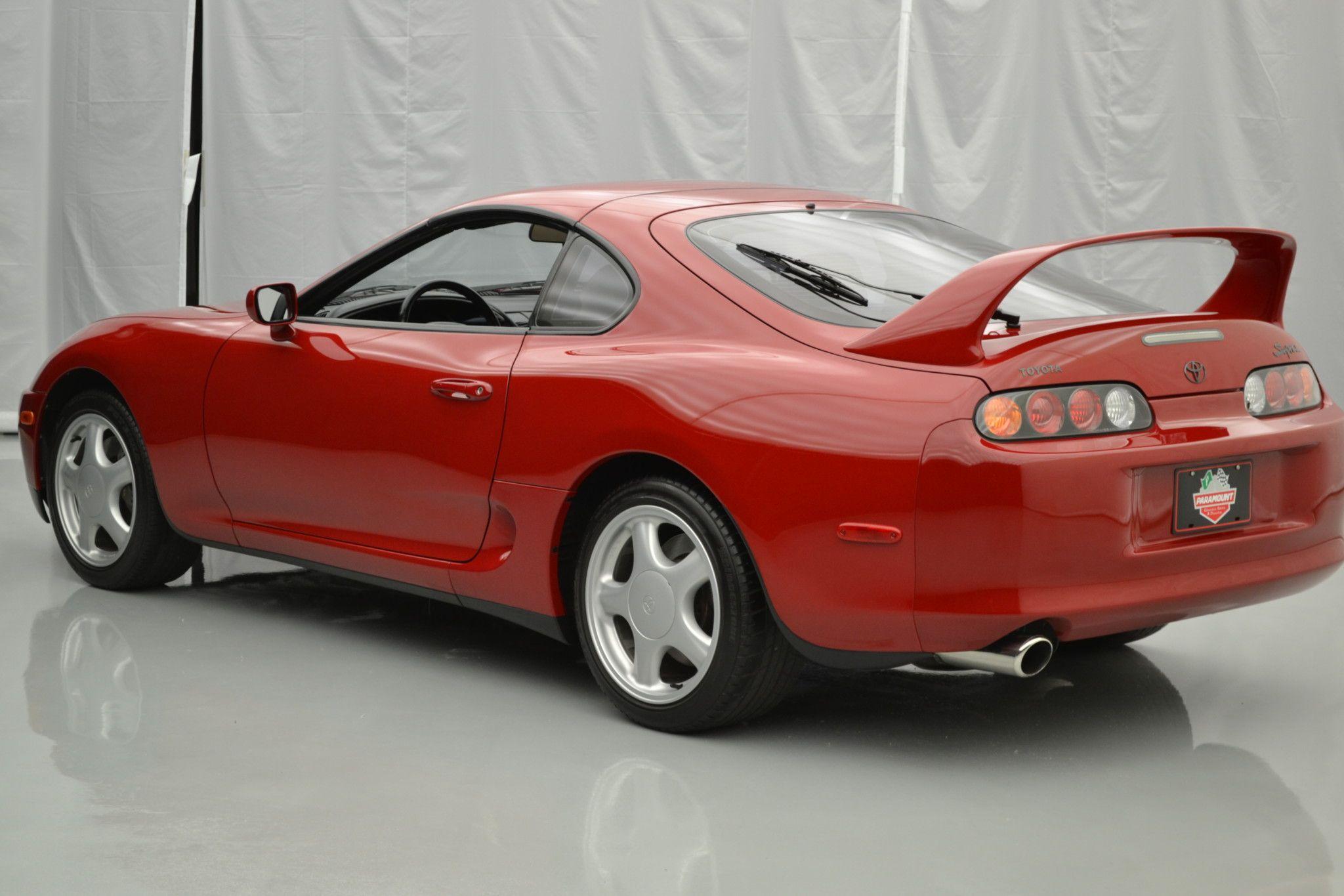 4a7e5af2a5d5 7000-Mile Supra Turbo Sells for  121