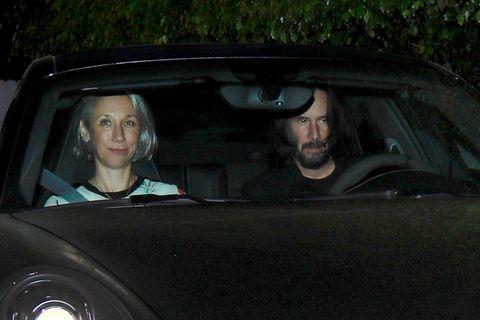 基努李維(Keanu Reeves)與緋聞事業夥伴Alexandra Grant