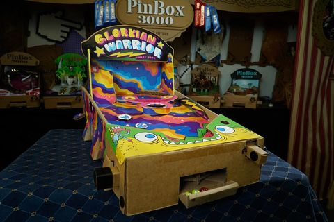 Games, Arcade game, Video game arcade cabinet, Technology, Recreation, Electronic device, Room, Pinball, Play,