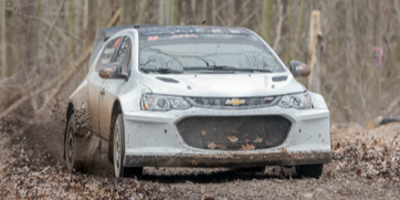 How To Flip Cars >> Listen to This LS3-Swapped Chevy Sonic Rally Car on the Move