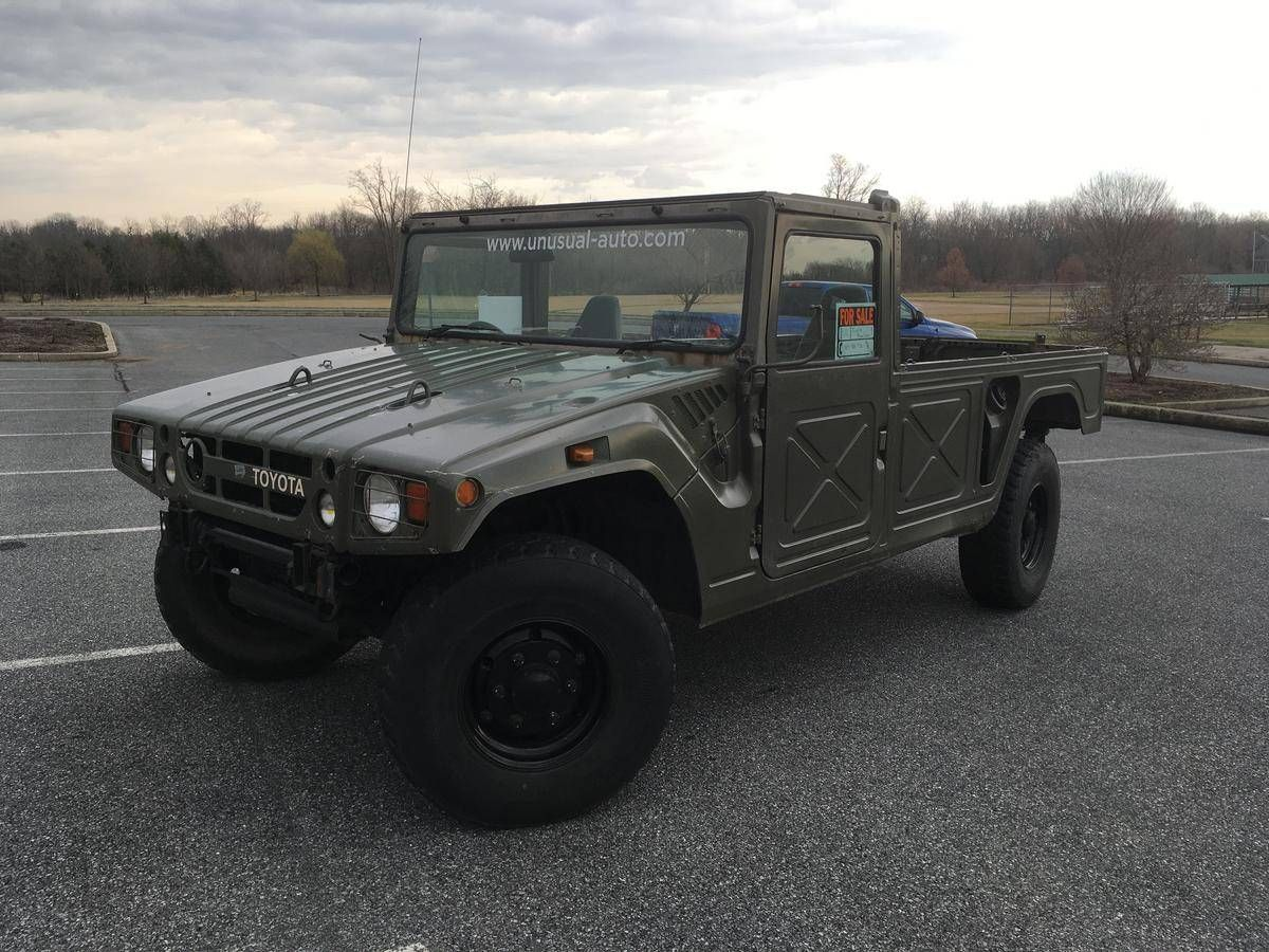 Two Military-Spec Toyota Mega Cruisers Are Somehow for Sale in America Right Now