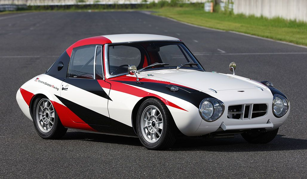 1966 Toyota Sports 800 Factory Restoration Gazoo Racing Restores