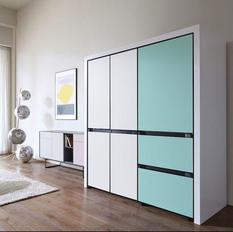 Furniture, Room, Door, Cupboard, Interior design, Wall, Vehicle door, Automotive exterior, Floor, Glass,