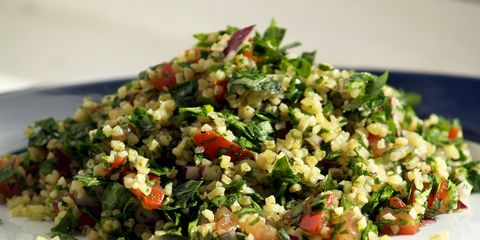A plate of tabbouleh