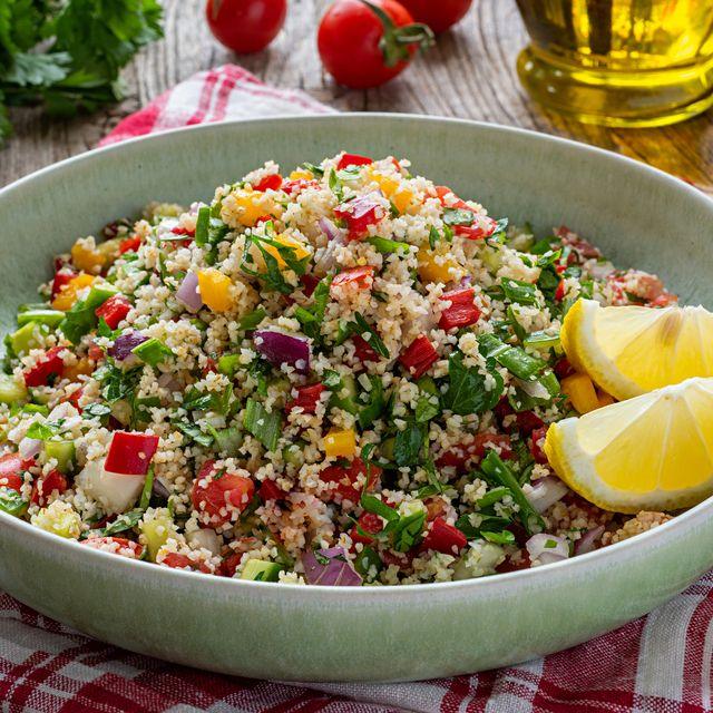 tabbouleh salad with bulgur wheat