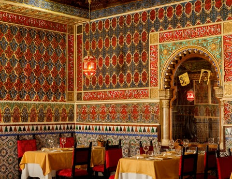 Holy places, Building, Room, Interior design, Architecture, Restaurant, Napoleon iii style, Palace,