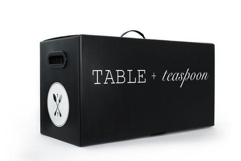 Table and Teaspoon Table Settings