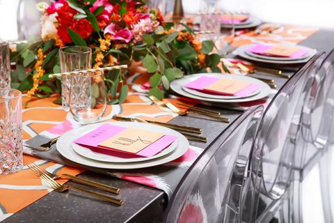 Table and Teaspoon Table Setting Service