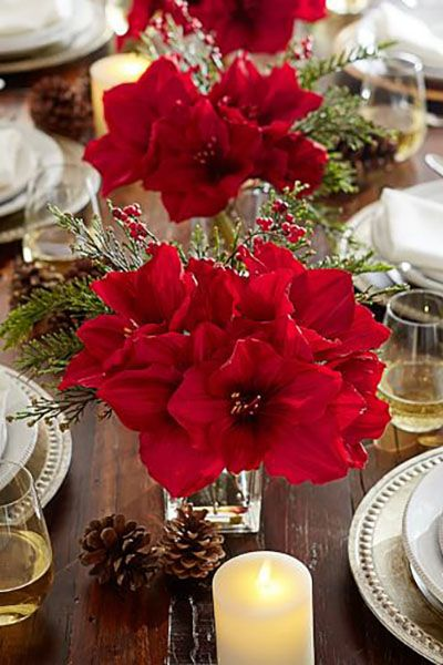 38 Christmas Table Decorations Centerpieces Ideas For
