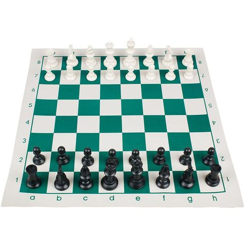 tablero de ajedrez enrollable
