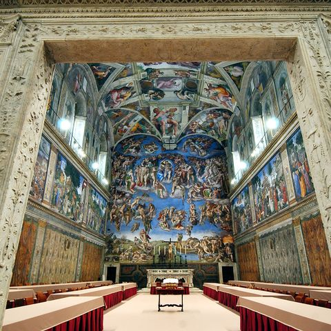 quarantine father's day ideas   sistine chapel tour