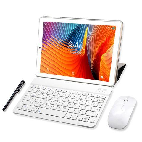 tablet con teclado y ratón