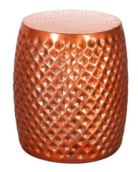 Taburete de cobre