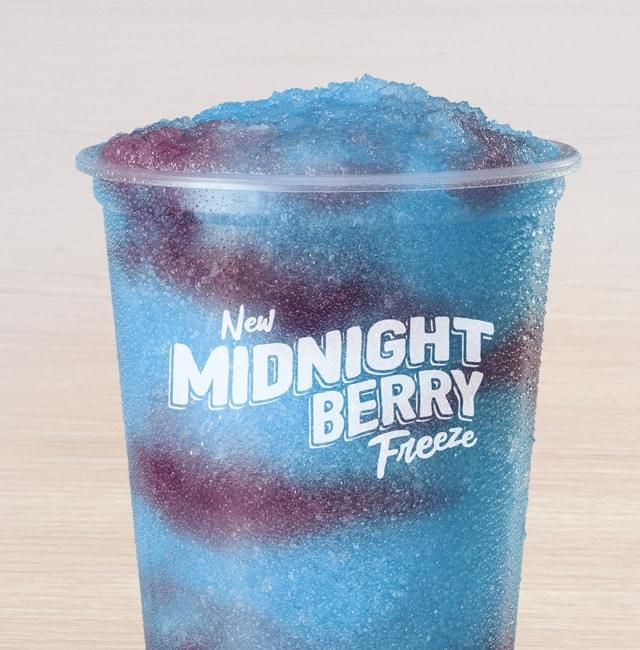 taco bell midnight berry freeze