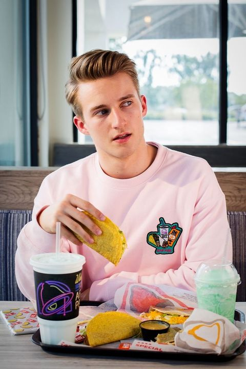 taco bell and forever 21 s full collaboration is out and it s spicy