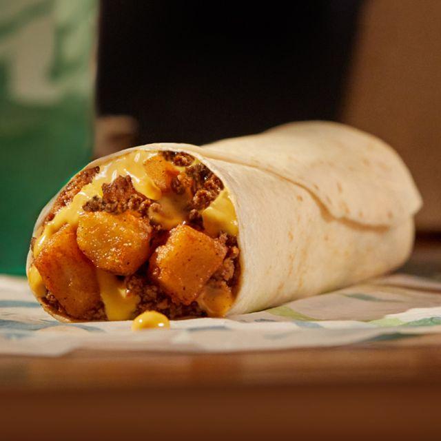 taco bell beefy potato rito burrito
