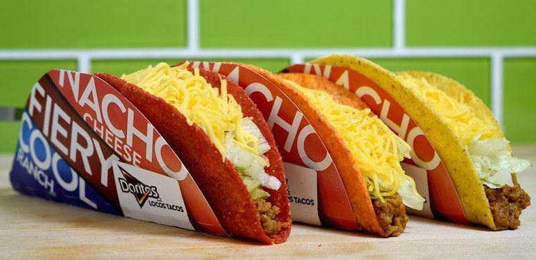 Taco Bell Doritos Locos Tacos