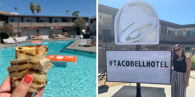 We Went To The Taco Bell Hotel—Here's What It Looks Like Inside