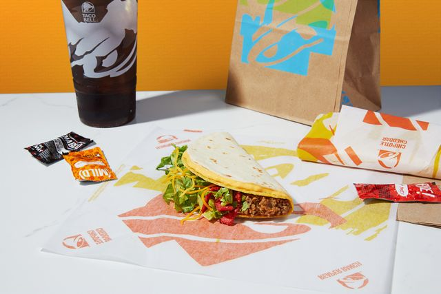taco bell nacho crunch 1 double stacked tacos