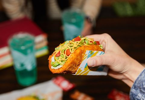 taco bell naked chicken chalupa