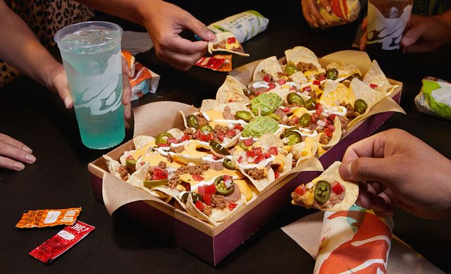 taco bell nacho party pack