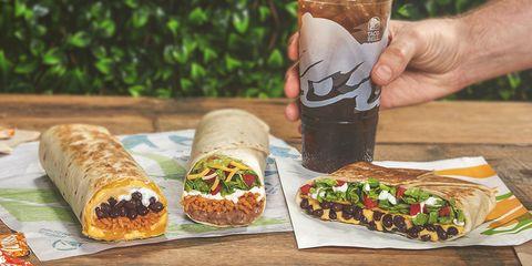 Cuisine, Dish, Food, Sandwich wrap, Ingredient, Fast food, Burrito, Mission burrito, Sandwich, Junk food,