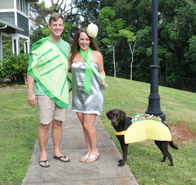 taco tequila dog owner couple costumes