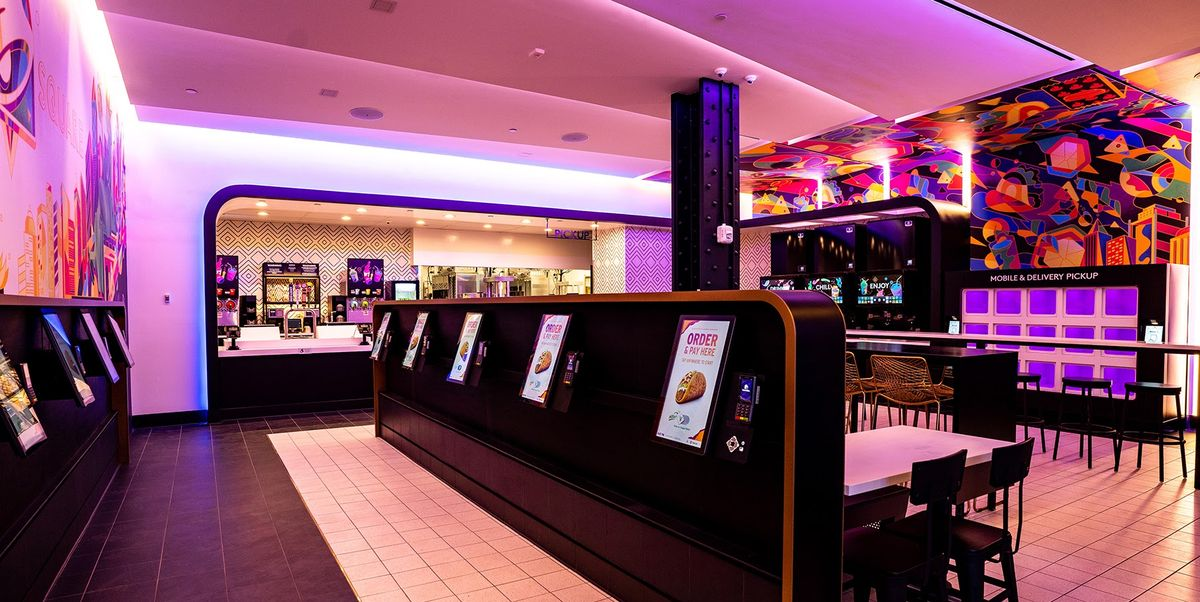 Taco Bell Opened A Digital-Only Cantina Restaurant In Times Square